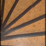 Décapage d'un escalier en bois