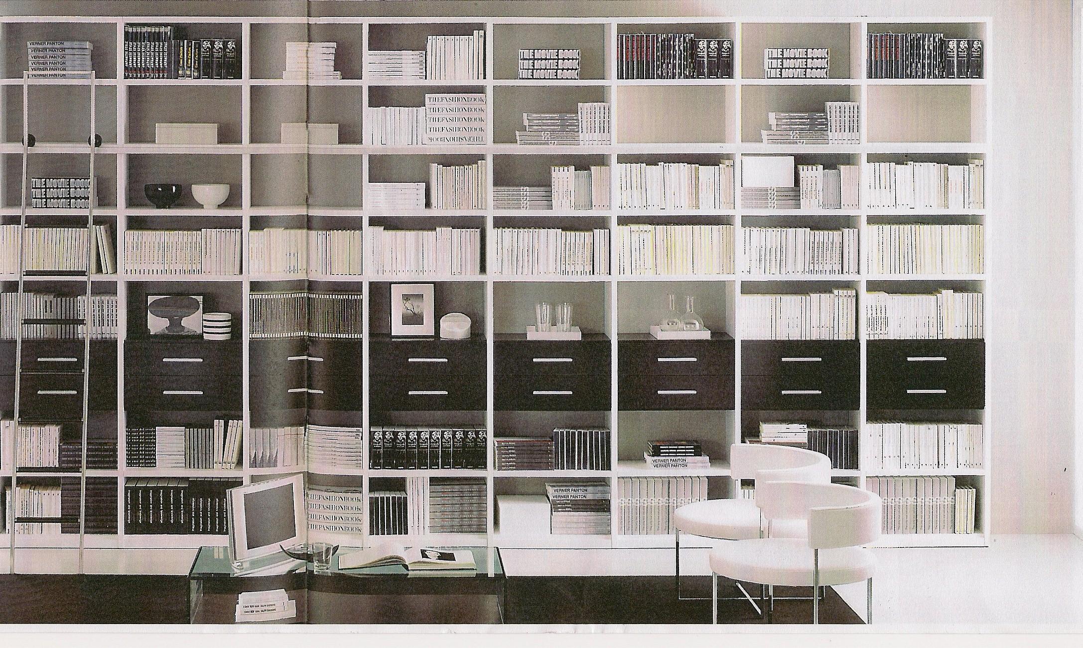 bibliotheque contemporaine r novation d coration d. Black Bedroom Furniture Sets. Home Design Ideas