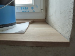 Comment r aliser un appui de fen tre int rieur en bois for Tablette pour fenetre interieur