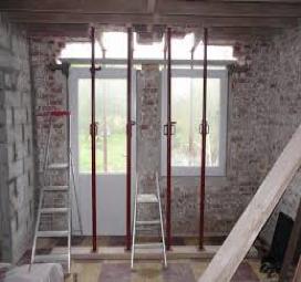 Ouvrir un mur porteur - Formule magique pour ouvrir une porte ...